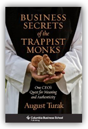 Business Secrets Trappist Monks book cover