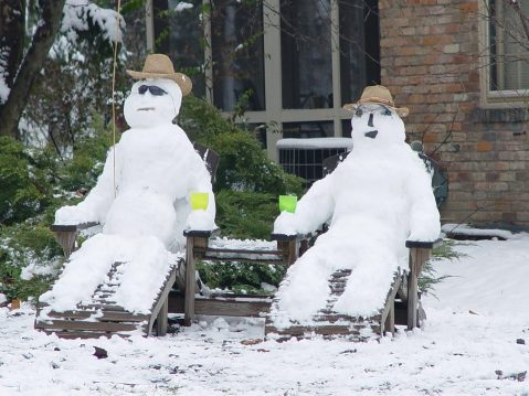 Winter Snowmen
