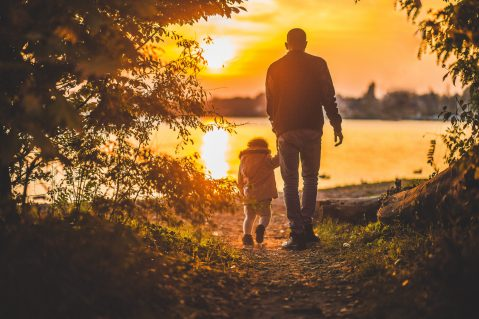 Father and child
